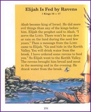 Elijah is Feb by Ravens (Story) - Kids Korner - BibleWise