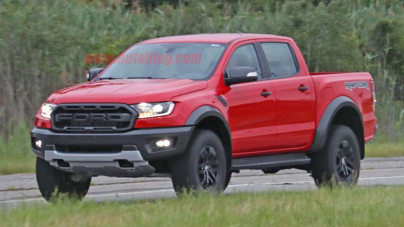 2019 Ford Ranger Raptor Pickup Looks Rad In Red Ford Ranger Ford Ranger Raptor 2019 Ford Ranger