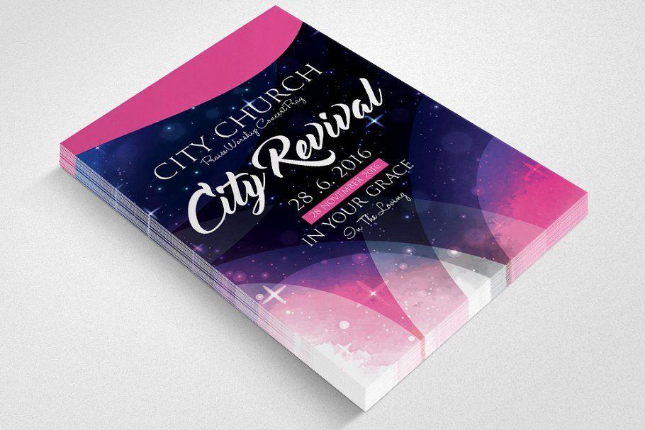 The City Revival Church Flyer V 2020 G