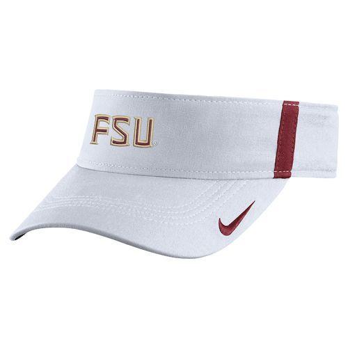 ee79accfd82fb Nike Men s Florida State University AeroBill Sideline Visor ...