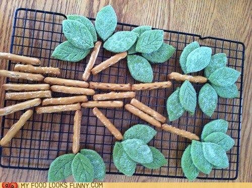 Epicute: Green Tea Shortbread Tree