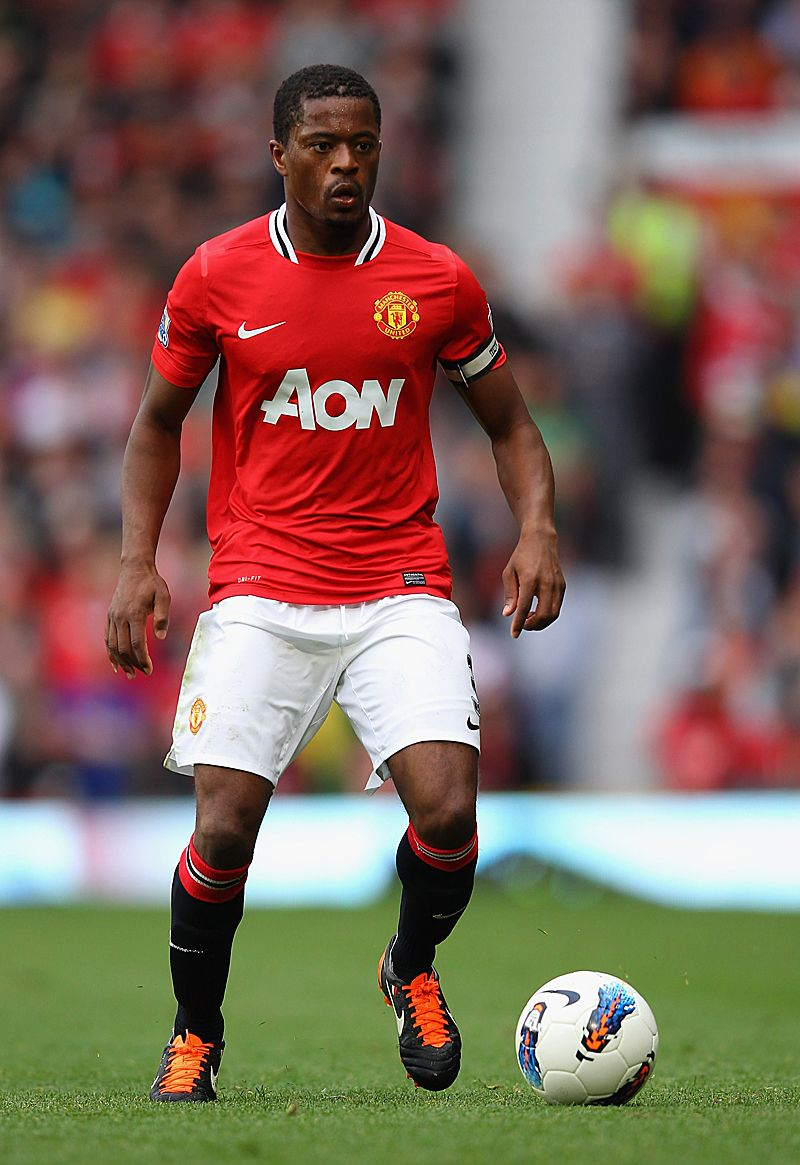 Evra United Will Go On Official Manchester United Website Manchester United Players Manchester United Manchester United Team