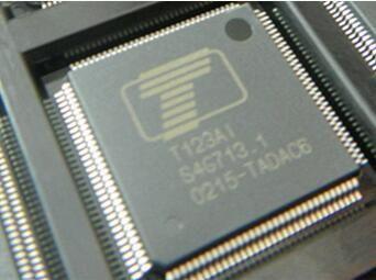FREE SHIPPING 2 PCS/LOT T123AI QFP128 original electronics kit in