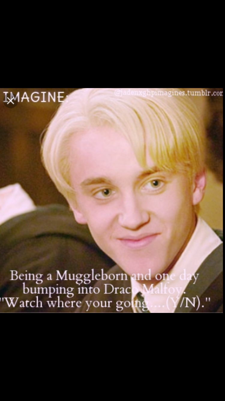 Pin by Kaitlyn York on Harry Potter imagines | Draco malfoy imagines