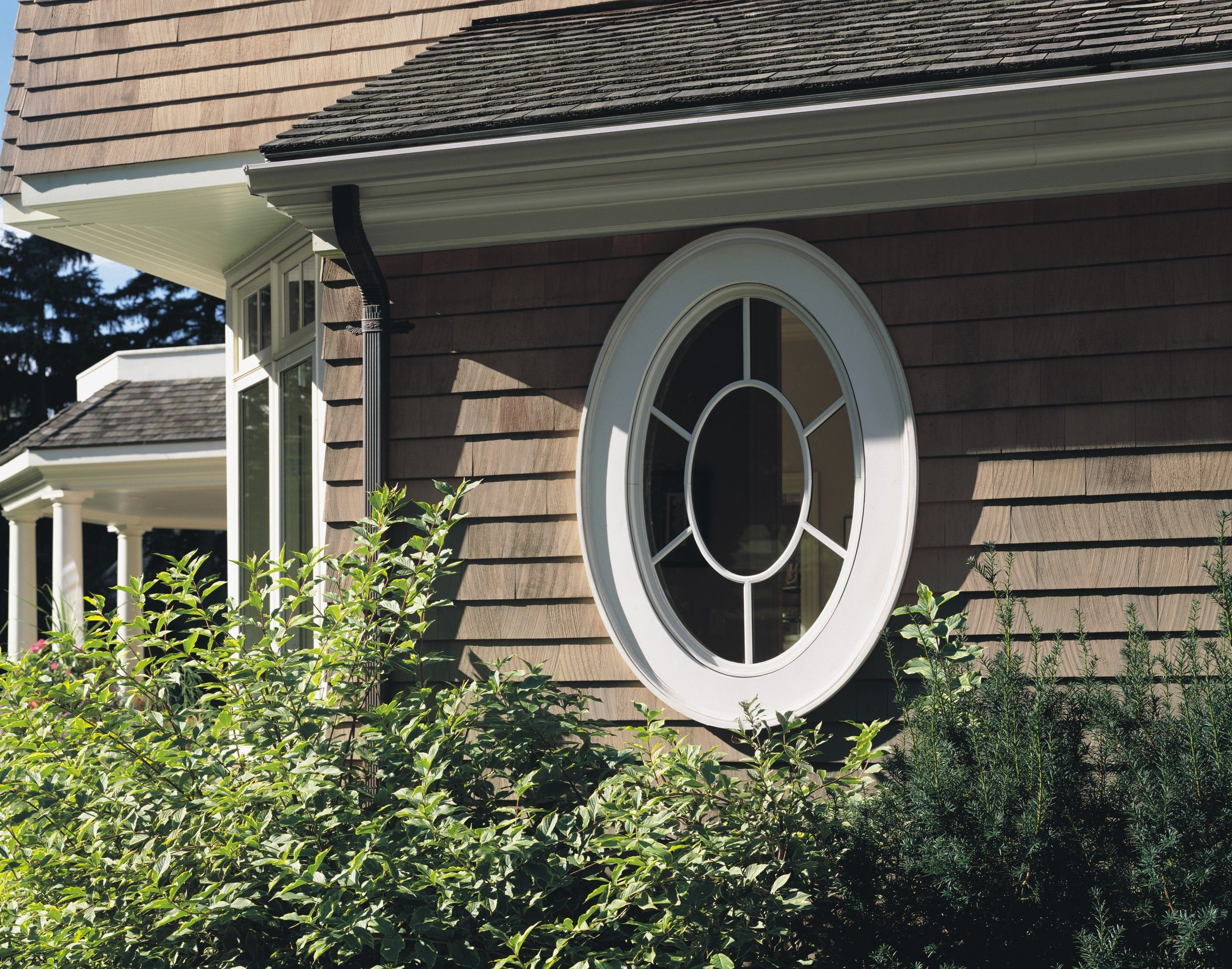 Jeld Wen 9 Lite Oval Window Supplied By National Lumber Newton Ma