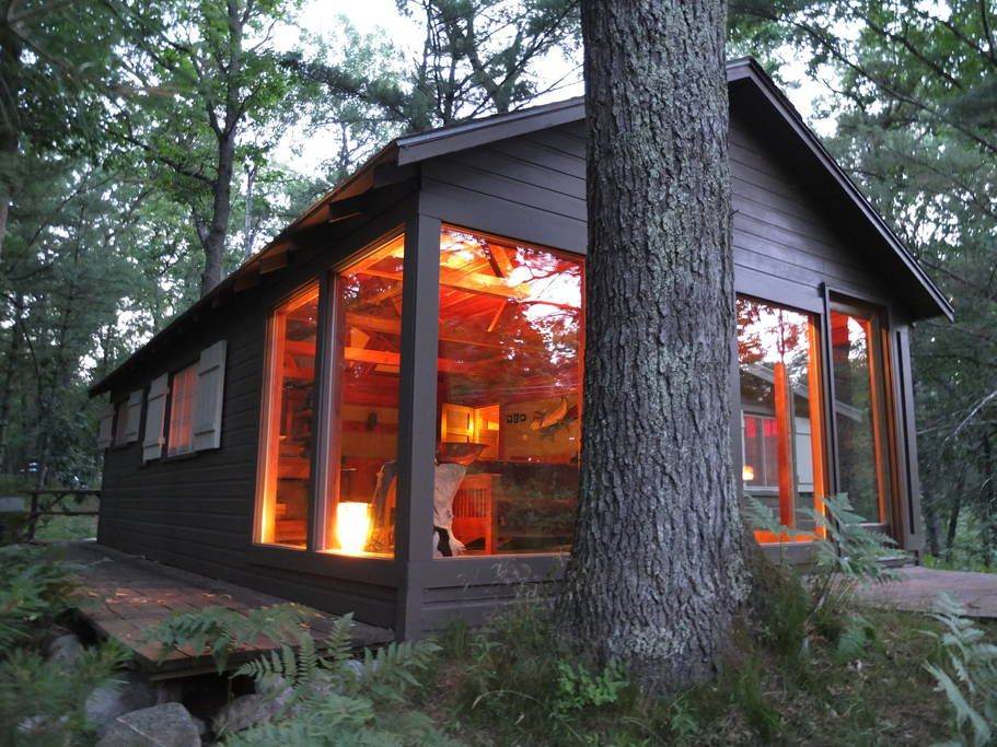 Riverside of cabin