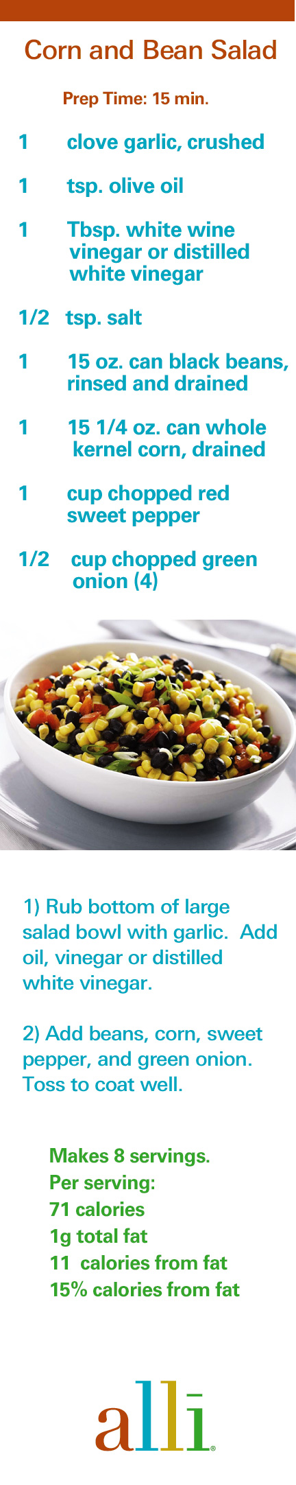 this corn and bean salad is a perfect side dish for a backyard