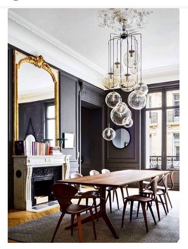 Pin By Rainwater Liu On Dream Dining Room Modern Dining Room