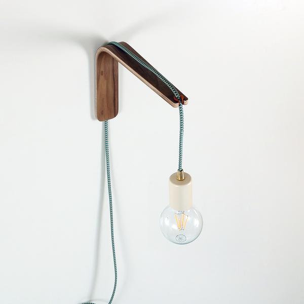 We Wanted To Offer A Wall Bracket That Could Convert Plug In Pendant Lamps To A Wall Mounted Versi Bedside Wall Lamp Plug In Wall Lights Bedside Pendant Lights
