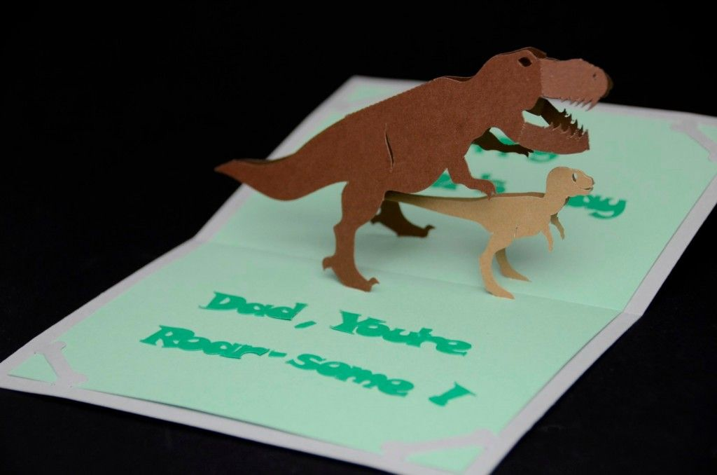 Dinosaur Pop Up Card Template Creative Pop Up Cards Pop Up Card Templates Pop Up Cards Easy Diy Valentine S Day Cards