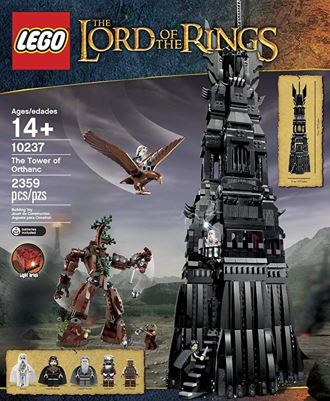 Lego 10237 Lord Of The Rings The Tower Of Orthanc Lego