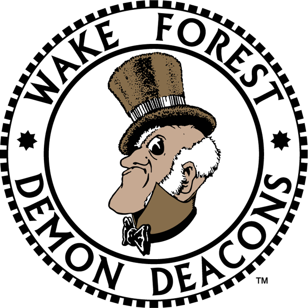 Wake Forest Demon Deacons Primary Logo NCAA Division I