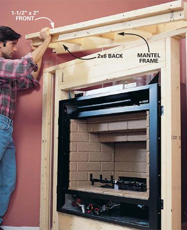 How To Install A Gas Fireplace For The Home Gas
