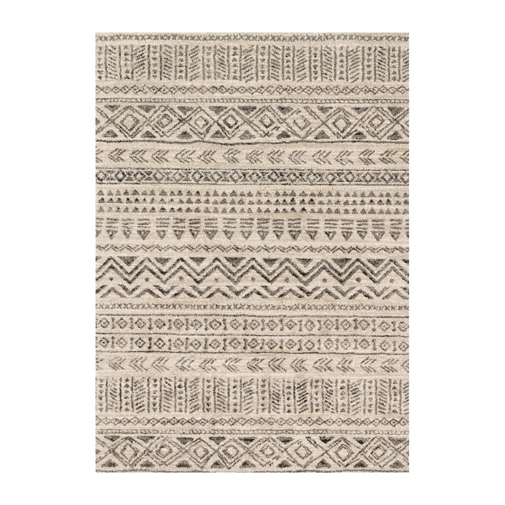 Shop Loloi EMOREB10SNGT Emory Stone and Graphite Area Rug