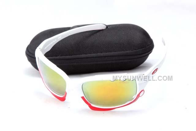 0f9ad7c6fc Cheap Supply Oakley Jawbone Sunglass 9089 White Frame Yellow Lens On Sale  Cheap New Arrival