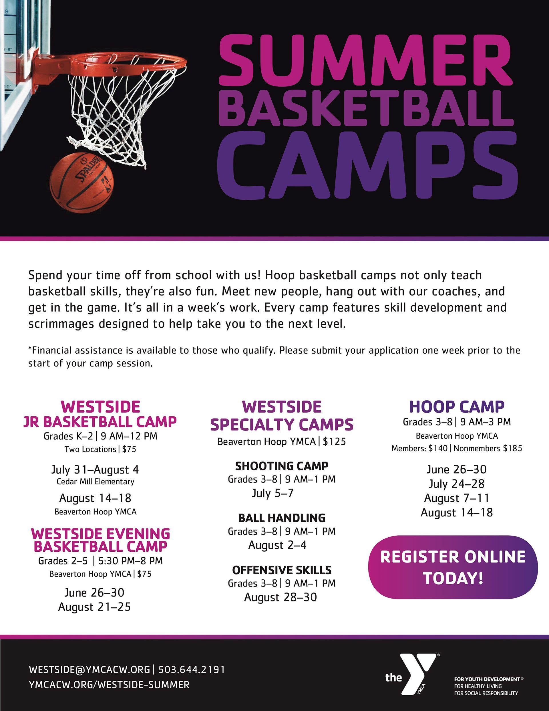 2017 great ymca basketball summer camp programs ymca of