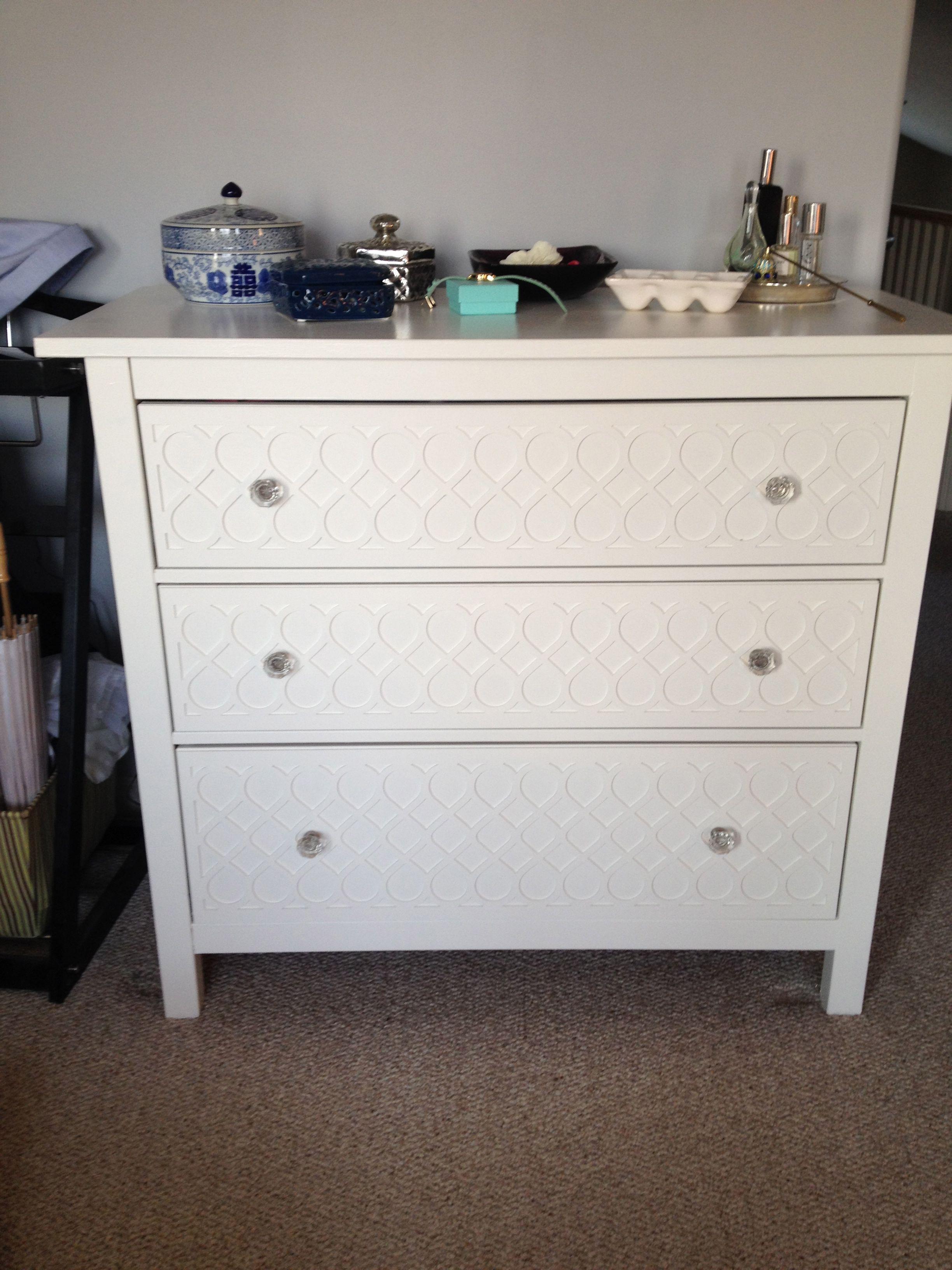 Overlays On A Hemnes Ikea Dresser Dresser As Nightstand Ikea