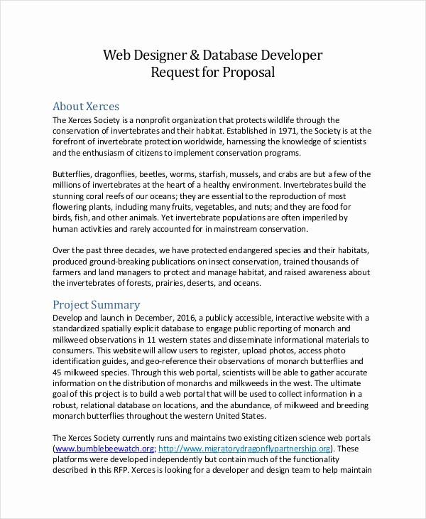 40 Web Design Proposal Template In 2020