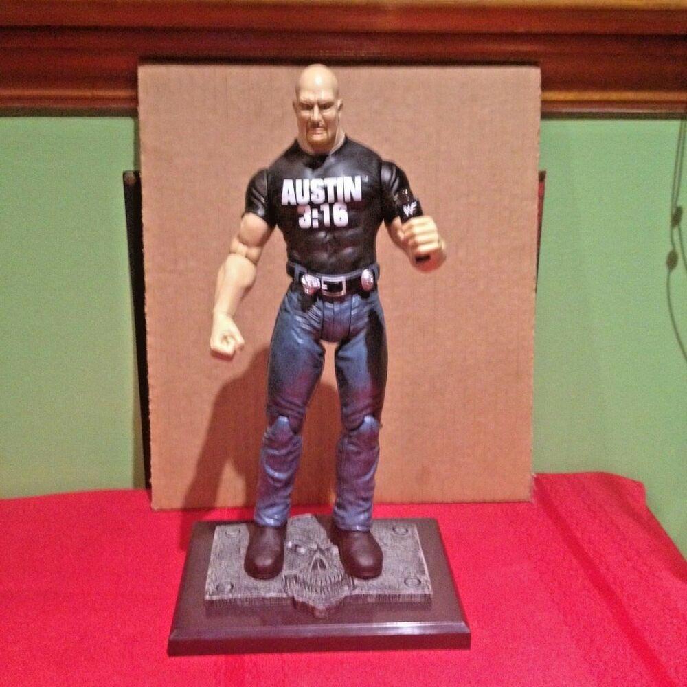 * Nouveau MATTEL WWE Rétro Stone Cold Steve Austin 3:16 Action Figure