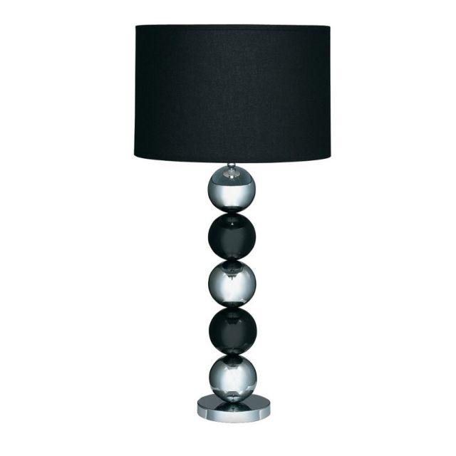 EU2038CC Table&Floor - stolná lampa čierna/chróm - 650mm