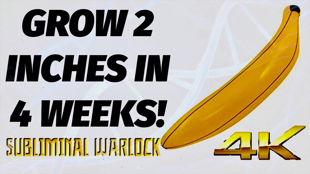 GROW 2 INCHES IN 4 WEEKS! MALE ENHANCEMENT BINAURAL