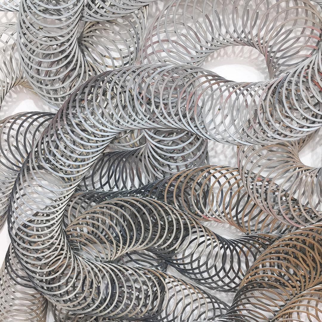 FIAC 2015 highlights #fiac #art #artist #artwork #instaart #arte #soartsy  #artoftheday #artistic #arts #artmarket #artfair #painting #peinture #paris #france #sculpture #creative #colorful #expensive #trendy #искусство #картина #скульптура #taradonovan  #lasercut #pace #instafun by stbarthchris