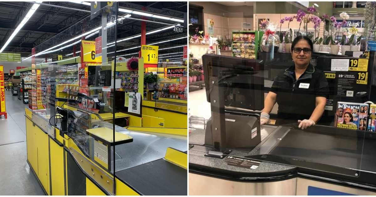 Essential Stores In Canada Are Installing Shields At
