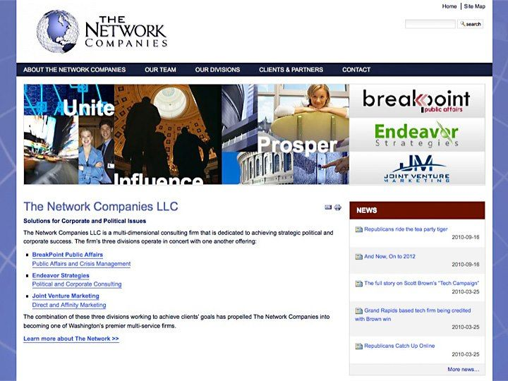 The Network Companies Consulting Plone Webdevelopment Webdesign Networking Companies Political Issues Portfolio Design