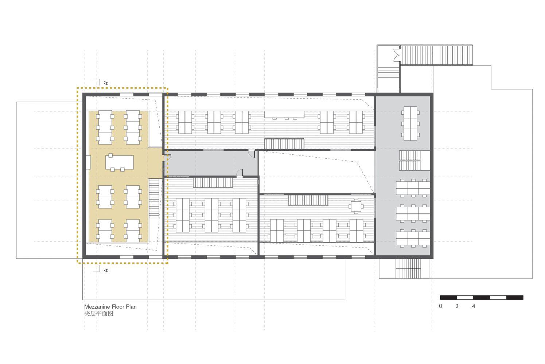Crossboundariesu0027 New Office,Mezzanine Floor Plan