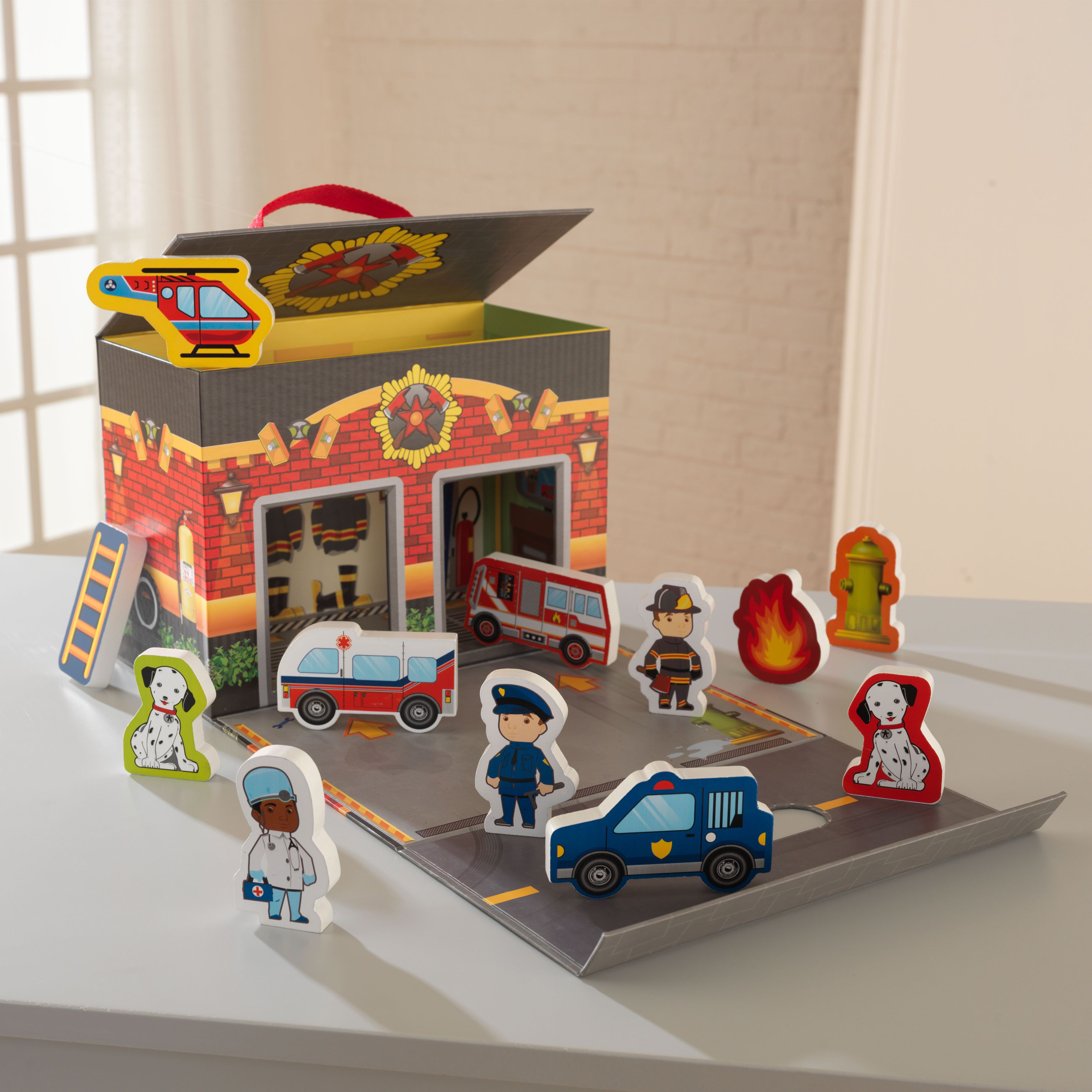 Baby girl car toys  KidKraft Emergency Room Resuce Travel Box Play Set  crafts misc