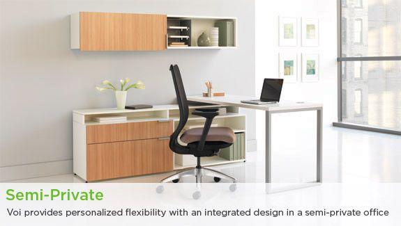 hon's voi laminate desking. learn more at www.hon. | desks