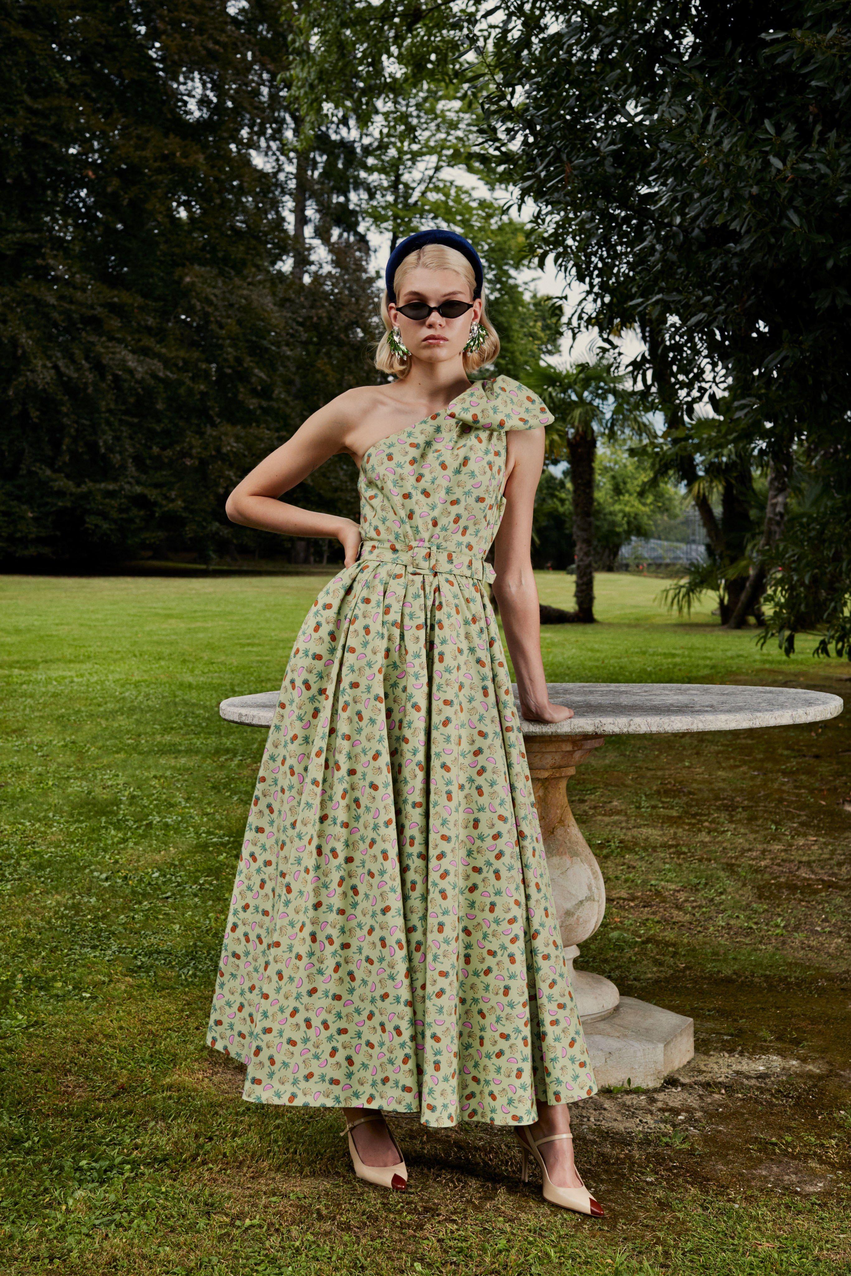 фото платье ретро весна еще один сорт