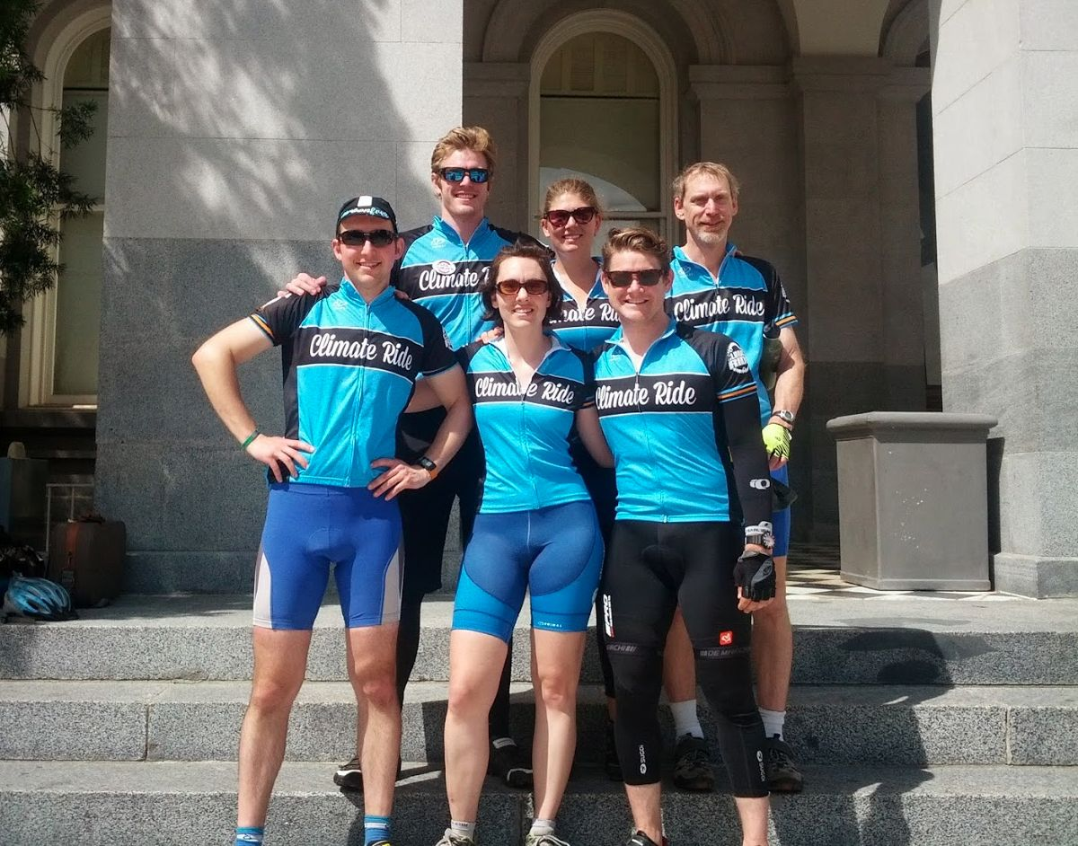 Team of five Lucid employees pedals 250 miles in Climate Ride California #climateride 2014
