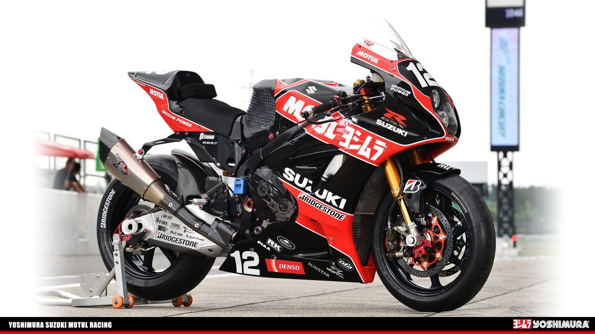 壁紙 19年 鈴鹿8耐 01 ヨシムラジャパン ヨシムラ スーパーバイク スズキのオートバイ