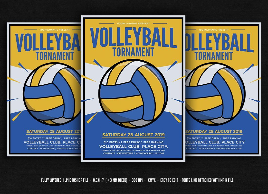 Volleyball Tournament In 2020 Volleyball Tournaments Volleyball Posters Volleyball