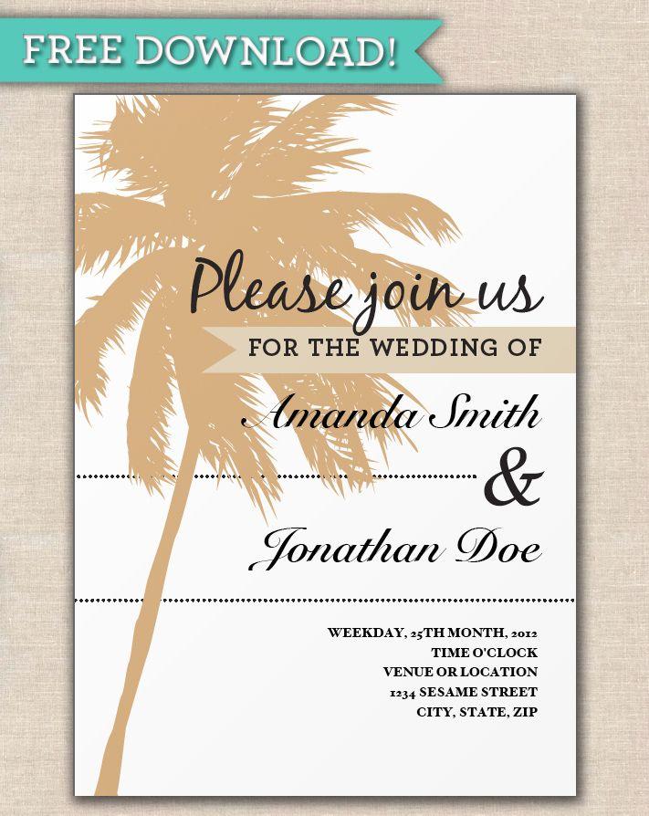 Beach Wedding Beach Wedding Invitation Templates Beach Wedding Invitations Beach Wedding Wedding Invitations