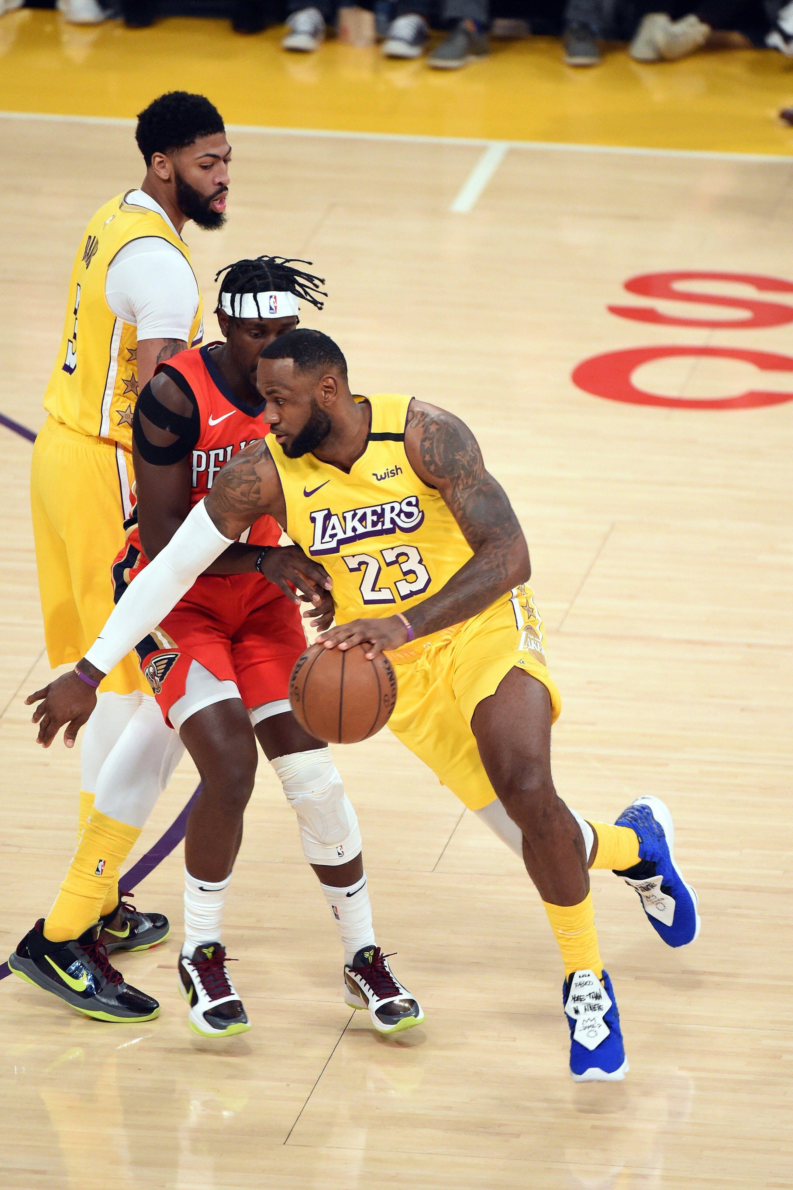 Photos: Lakers vs Pelicans (01/03/2020) | Los Angeles ...