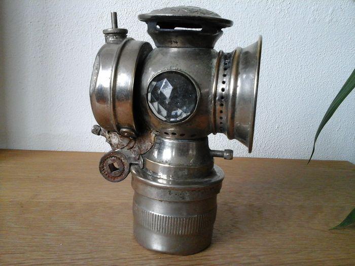 Antique Bicycle Motorcycle Lantern ARC LIGHT Miller Manufacturing ...