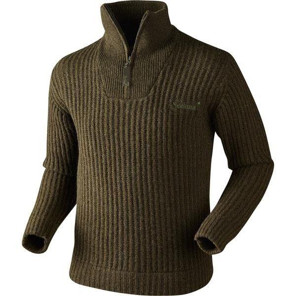 Seeland Glacier half zip sweater | Jumpers