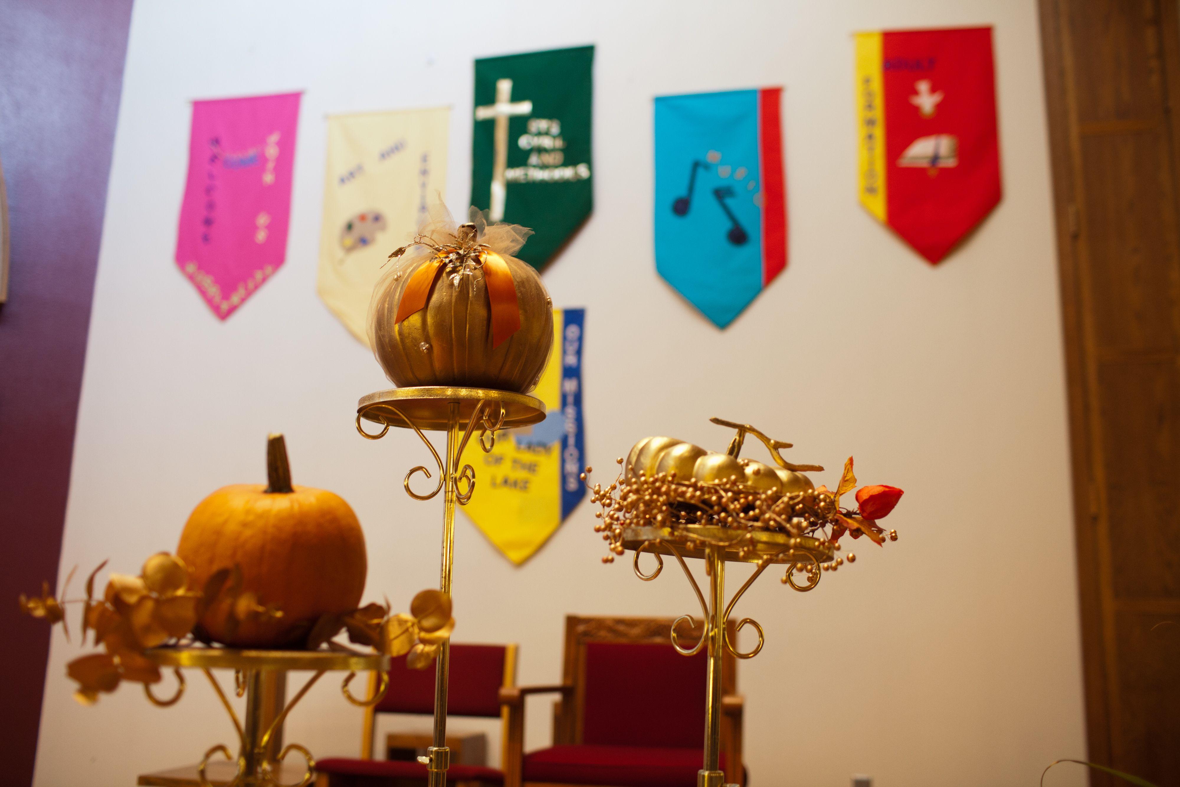 Pumpkin Church Decor