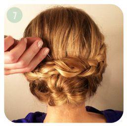 Chongo Para Cabello Corto Cabello Pinterest Short Hair Styles