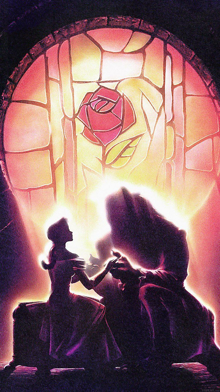 Beauty And The Beast Wallpaper 壁紙iphoneディズニー ディズニー