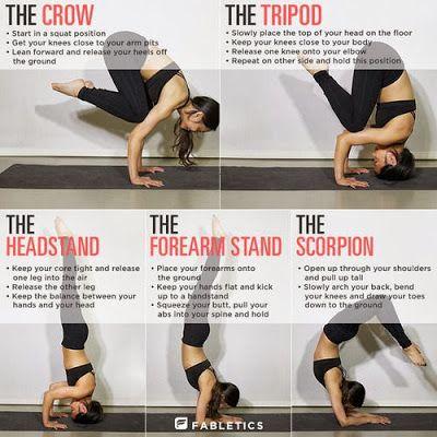 Yoga pose for balance