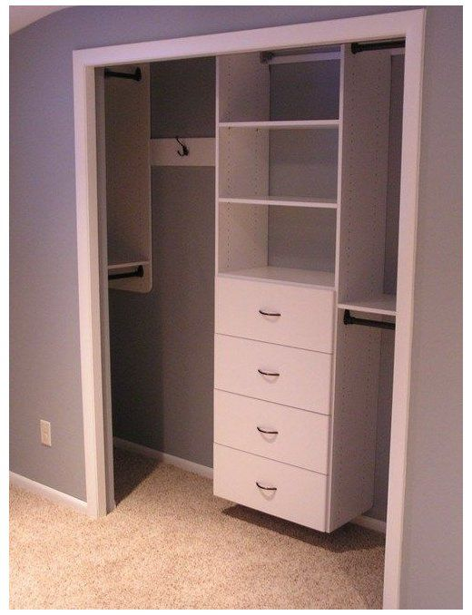 Small Closet's TIps and Tricks! Most people have small closets that can sometimes present issues with storage. Check out these small closets tips and tricks for optimizing space.