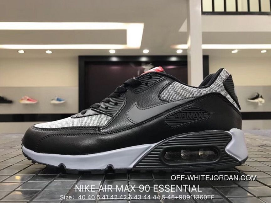 Nike Air Max 90 Essential 537384 065 Mens Retro Running