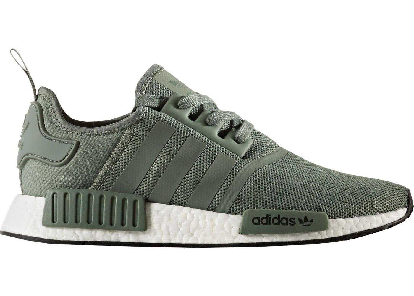adidas NMD R1 Trace Green in 2020 Sneakers men, Fashion