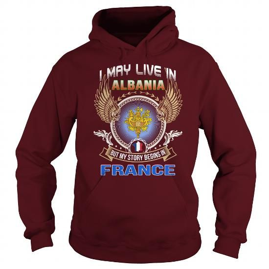 Albania-France T-Shirts, Hoodies (38.95$ ==► BUY Now!)