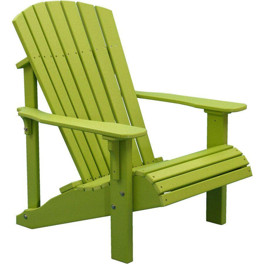 recycled plastic adirondack chairs.
