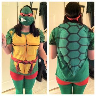 Ninja Turtle Costume - DIY Shell - #halloween #costume #diy