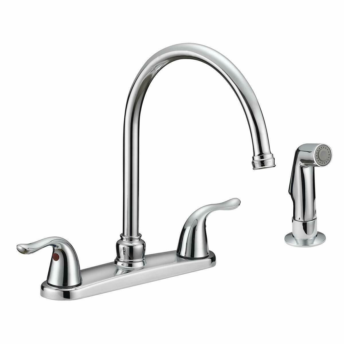 Kitchen Faucet With Side Pull Out Sprayer Two Way Out Mixer Taps